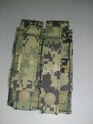Eagle Industries Aor2 Double 2x1 Flat M9 Pistol Mag Pouch Molle 5a2