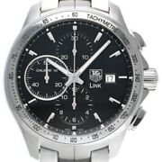 Free Shipping Pre-owned Tag Heuer Link Caliber 16 Chronograph Cat2010.ba0952