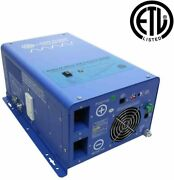 Aims Power 1500w 1500w Pure Sine Inverter Charger Etl Certified Conforms To Ul4