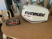 Evinrude Outboard Etec 130hp Motor Cowling 2008 And Up P0285748