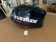 Evinrude Outboard Etec 65hp Motor Cowling Like New P0285738