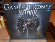 Game Of Thrones 2013 Large Wall Calendar Hbo Art Decor Brand New Sealed Perfect