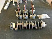Used 2.5 Mercury Outboard V6 Crank Shaft P/n 455-850690t2 6-pistons 6-rods