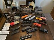 Lionel Train Set Lot Collection 239 Marx With Tracks Accessories Signs And More