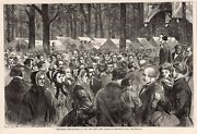 Ossining, New York Sing Sing Campwoods Grounds 1868 Methodist Camp Meeting Tents