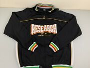 """Lrg Lifted Research Group Xl Multicolor Embroidered Jacket """"title Snatcher"""""""