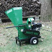 Mackissic Mighty Mac Wc375 Wood Chipper Briggs Engine New