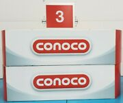 2 Huge Conoco Gas Station Pump Topper Signs