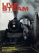 Live Steam Jan 1984 Smokebox Climax Water Pump Weed Sprayer Traction Engines