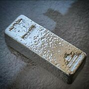 Metals Mafia - 20 Troy Ounce - .999 Silver - Hand Poured Silver Bar