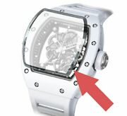 Replacement Sapphire Crystal Glass Fit For Richard Mille Rm055 Ntpt Watch