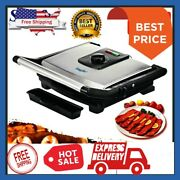 Household Kitchen Electric Hotplate Smokeless Grilled Meat Pan Bbq Grill Machine