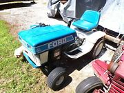 Ford Yt16h Riding Mower-garden Tractor 42 Deck-twin 16 T/c Briggs And Stratton