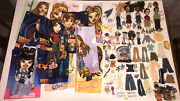 Huge Bratz Dolls Lot Including Dolls Clothes Posters And Accessories '01 '02 '03