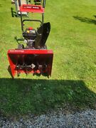 Yard Machine Snow Blower By Mtd 24 Clearing Width 208cc Excellent Condition