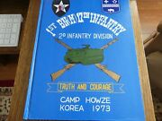 1st. Bn M 17th Infantry 2d Infantry Division Truth And Courage Camp Howze Korea