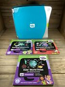 Leap Frog Leap Start Interactive Learning System W/ 3 Books Reading Vocabulary