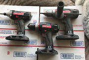 Craftsman C3 19.2v 1/2 Hammer Drill And Xcp Drill And Impact Driver