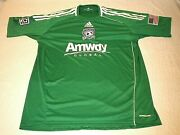 San Jose Earthquakes Amway Genuine Team Issued Andrew Weber 25 Goalie Mls Jersey