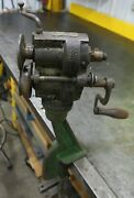 Pexto Peck Stow And Wilcox Bead Roller Bench Mount Edger Sheet Metal Vintage Too