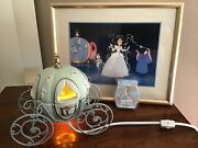 Disney Scentsy Cinderella Carriage Warmer + 3 Happily Ever After Wax Bars