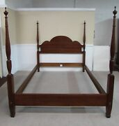 Ethan Allen American Classics Cherry Queen Size Bed Four Poster 31-5610 Fin 311