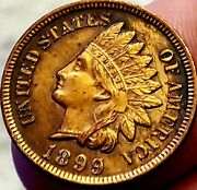 1899 Indian Head Cent Penny