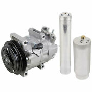 Ac Compressor W/ A/c Drier For Infiniti Qx4 And Nissan Pathfinder 2003
