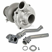 Turbo Turbocharger W/ Up Pipes For Ford F350 Super Duty 7.3l Powerstroke Diesel