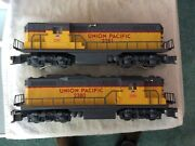 Lionel Up Gp-9 Power And Non Power Lash- Up Set No. 6-11956