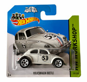 Hot Wheels Beetle - Herbie The Love Bug - Short Card Combined Postage Available