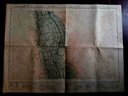 Archeological1936 Old Map Minia Upper Egypt By Surveyandantiques Service Authority