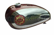 Fit For Bsa Gold Star Dbd32 Dbd34 Petrol Tank With Cap Taps And Chromed Painted