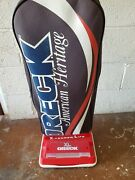 Oreck Xl 2650 American Heritage Upright Vacuum Cleaner With Bags Red