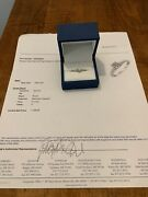 Northern Star 3/8 Carat Diamond Engagement Ring Solitaire In 14kt White Gold