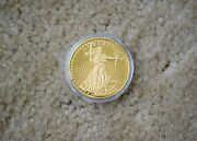 1933 Double Eagle Proof Gold Plated Coin Copy In Plastic Capsule W/certificate