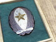 Empire Of Japan Army Airplane Control Emblem Medal Box Military Antique Star