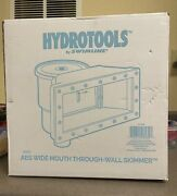 Hydrotools Wide Mouth Through Wall Skimmer Brand New In Box