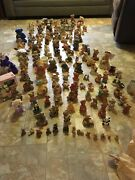 Lot Of Around 157 Bear Figurines All Kinds If Brands
