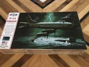 Atlantis Toy And Hobby Model Kit Lockheed P-3a Orion W/stand 1/115 Scale Sw