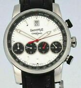 Eberhard And Co. Grande Taille Chrono 4 Automatic Manufacture, White Dial - 31052c