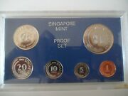 Rare Singapore 1969 Proof Set 1c - 1 Prefect Condition Only 3000 Issued