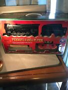 Lionel Trains Pennsylvania Flyer Battery Powered Train Engine Ready To Play Set