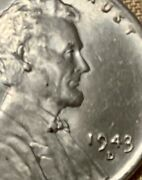 Us 1943 D One Cent Steel Wwii Wheat Penny
