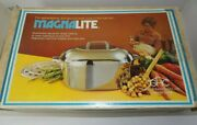 Vintage Magnalite 4267 13 Qt. Oval Roaster W/meat Rack Never Used In The Box