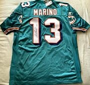 Dan Marino Autographed Signed Dolphins 1997 98 Authentic Starter Game Jersey Jsa