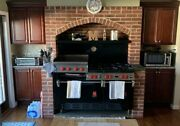 Vintage Wolf Commercial Stove