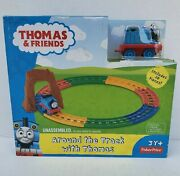 Fisher Price Thomas And Friends Around The Track 10 Piece Railroad Train Track New
