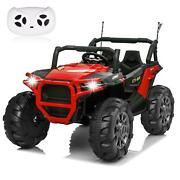 12v Kids Ride On Truck Car Led Mp3 Rc Girl Boy Remote Control Electric Toy Toys