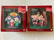 Carlton Cards Musical Christmas Ornaments Alvin And The Chipmunks, Merry Musicians